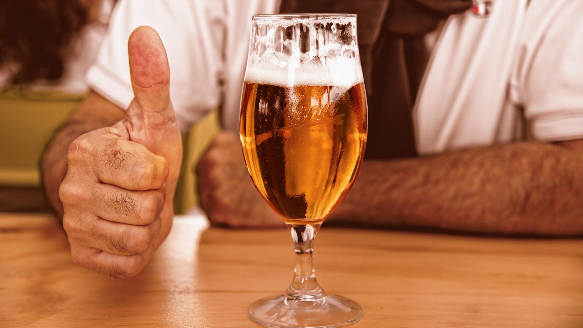 ビール,苦い